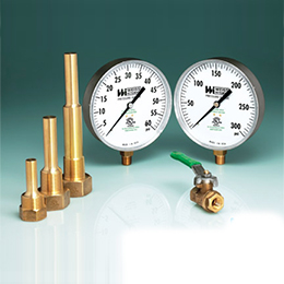 Pressure Gauges for Potable Water Applications