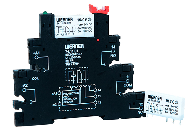 24 Series Relays & Sockets