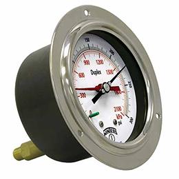 pdx duplex pressure gauge