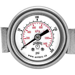 peu economy panel mounted gauge