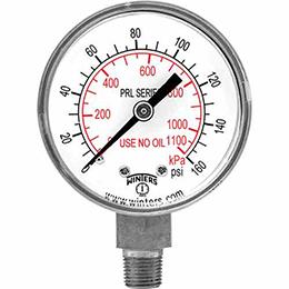 prl regulator gauge