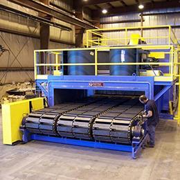 chain conveyor ovens