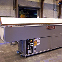 standard top load industrial ovens