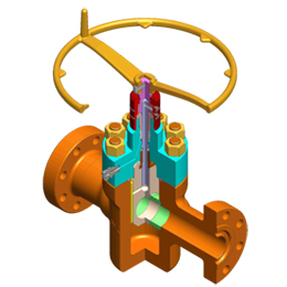 model 500 gate valve