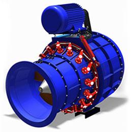horizontal turbine