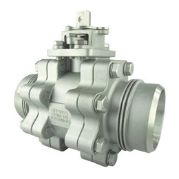 3-PC High Pressure Ball Valve - Reduce Port