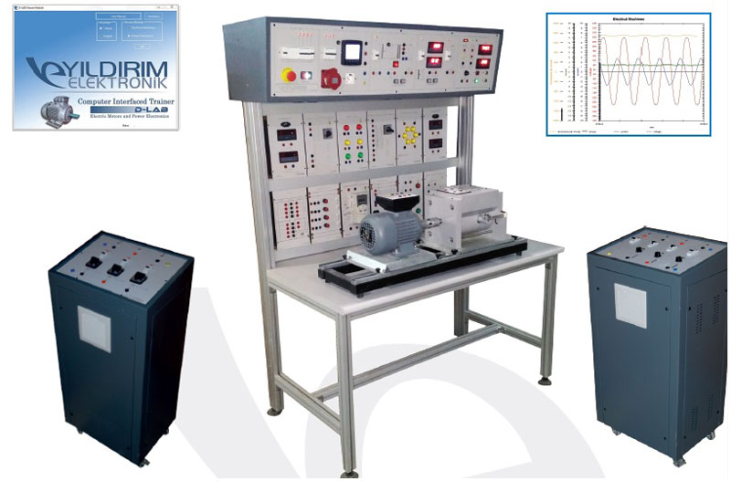 Electrical Machines and Control Training Set
