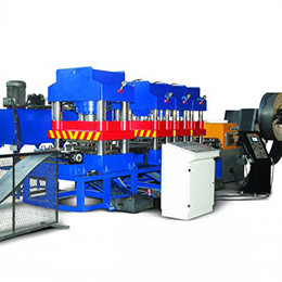 Column type hydraulic transfer press