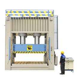 Monoblock hydraulic press 2250 tons