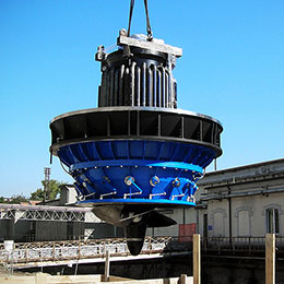 SUBMERGED KAPLAN TURBINE
