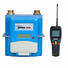amr-system for gas meters