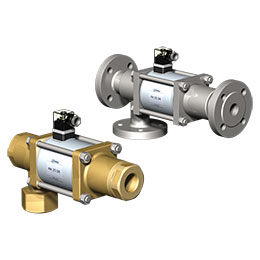 mk and fk dr series from co-ax valves are 3-2 way direct actuated coaxial valves
